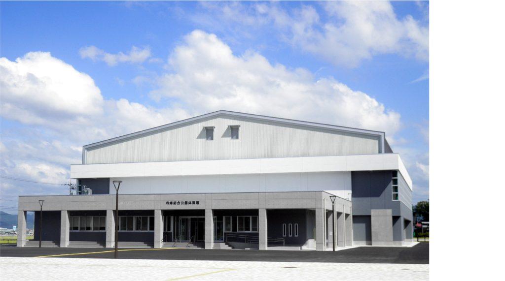 丹南総合公園 体育館建築工事イメージ