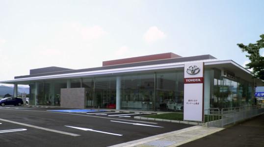 福井トヨタサンドーム南店新築工事イメージ