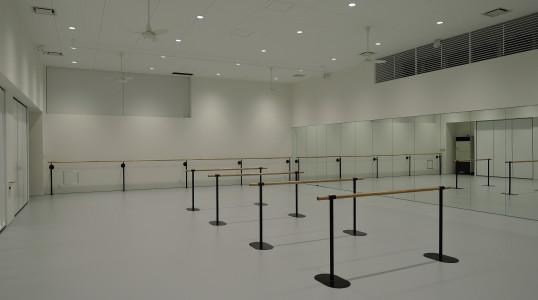 MJBダンススタジオ新築工事(内観)イメージ
