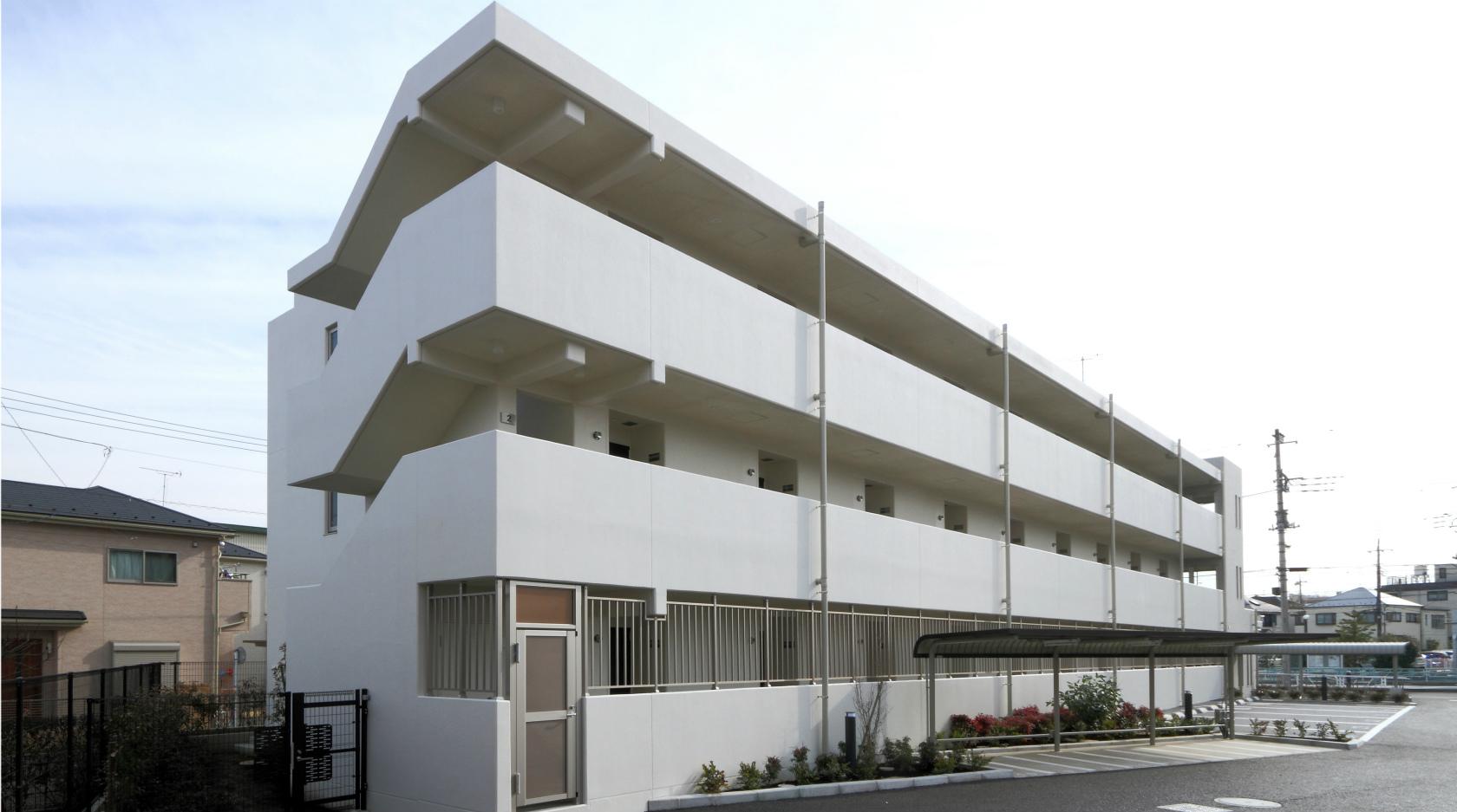 東京工業高専(散田)宿舎新営工事イメージ