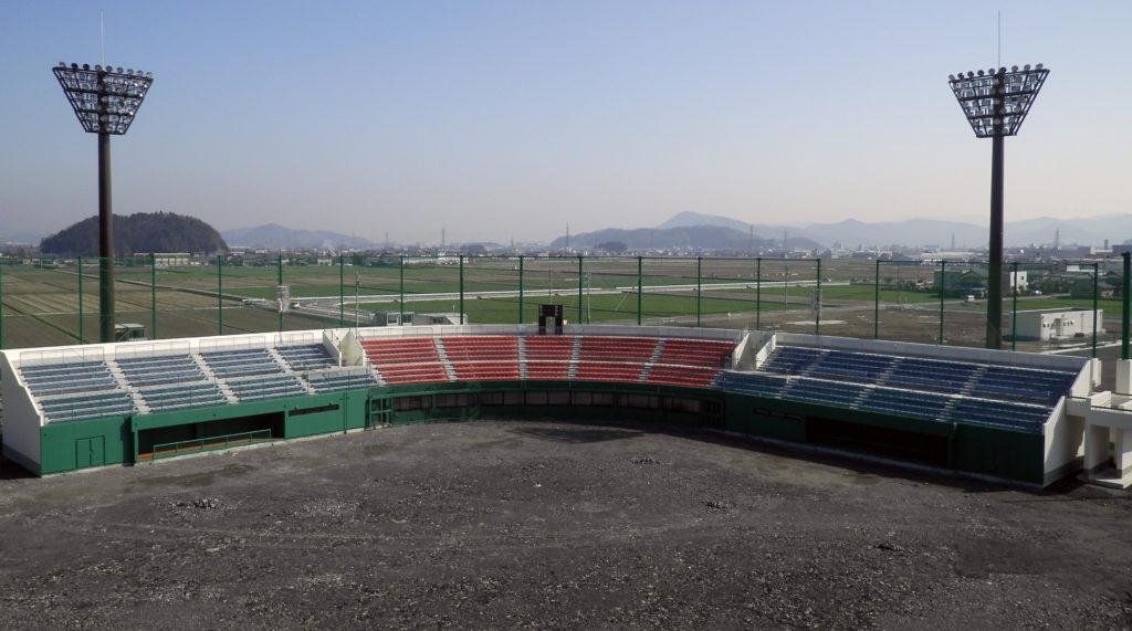 丹南地域総合公園 野球場内野スタンド等建築工事イメージ