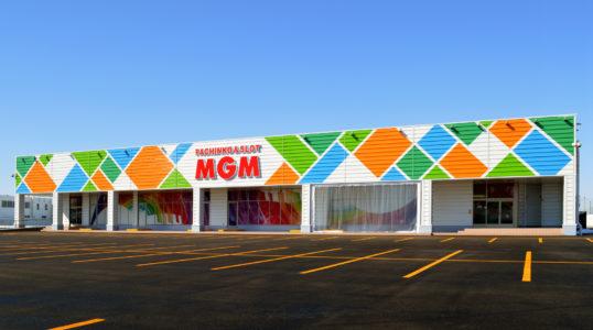 MGM米沢店新築工事イメージ