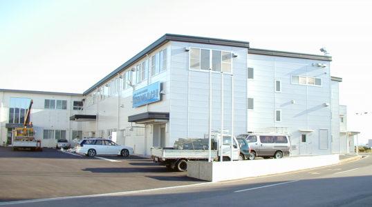 日本ダム(株)本社工場第二期増改築イメージ