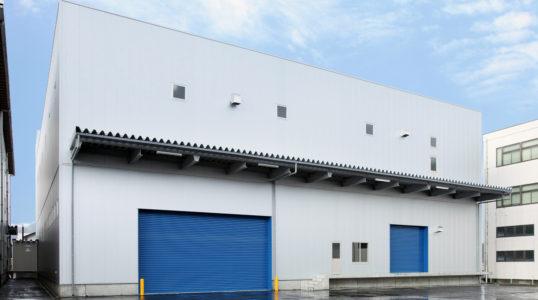 名神運輸 一号倉庫建て替え工事イメージ