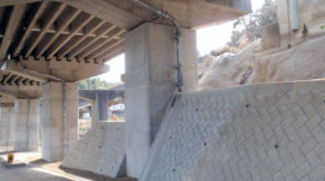 国道8号河原高架橋補修他工事イメージ