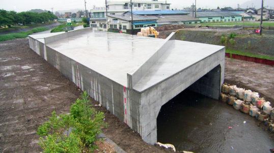 都市計画道路 河濯線築造その3工事/越前市芝原イメージ