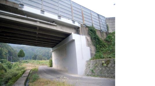 北陸自動車道 敦賀管内コンクリート構造物補修工事イメージ