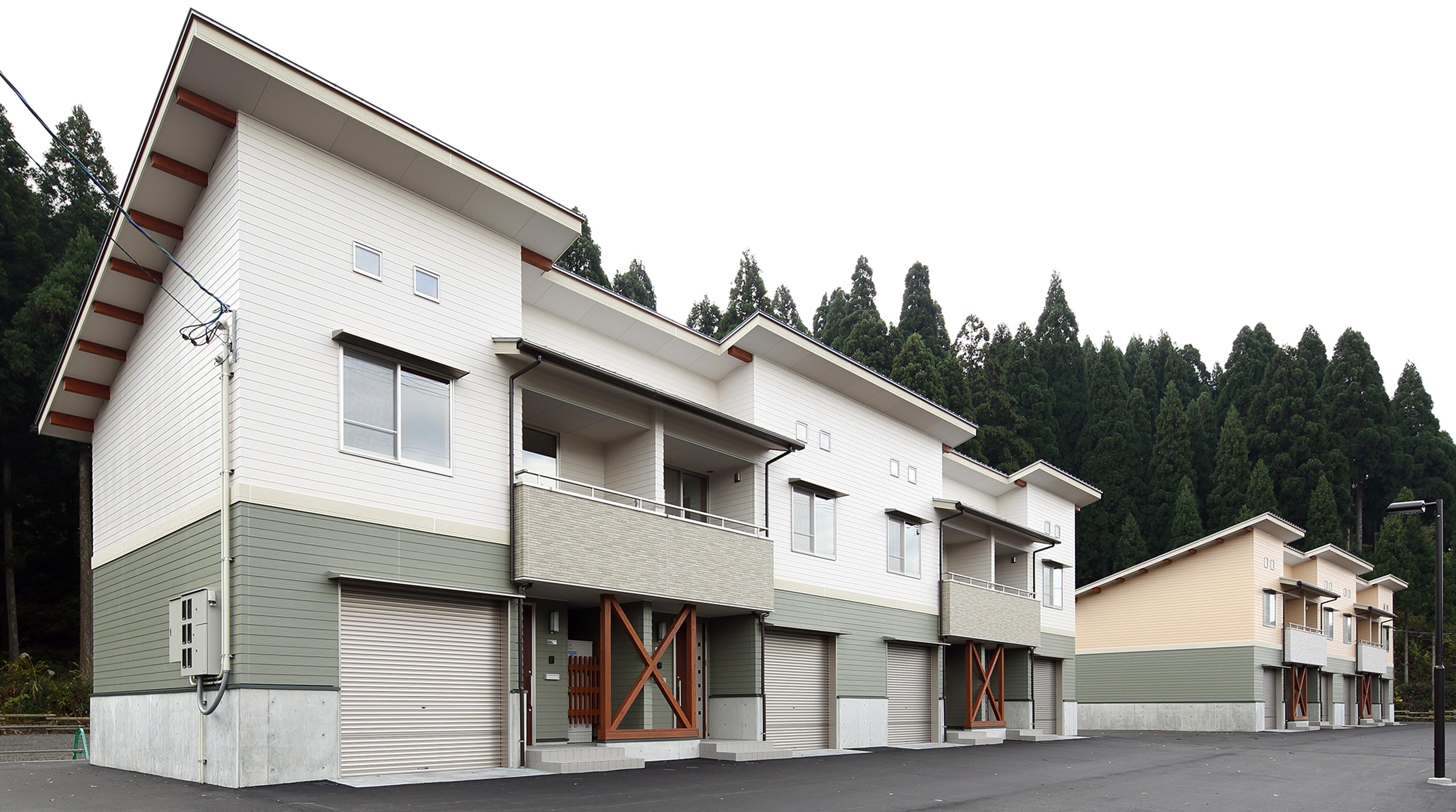 池田町薮田集合住宅C棟新築工事イメージ