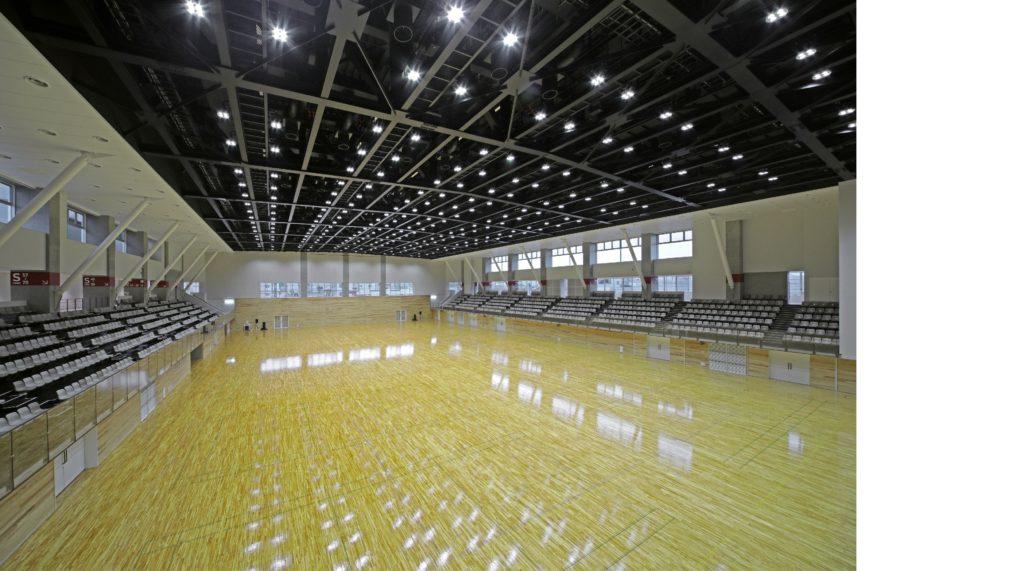 武生中央公園体育館改築工事イメージ