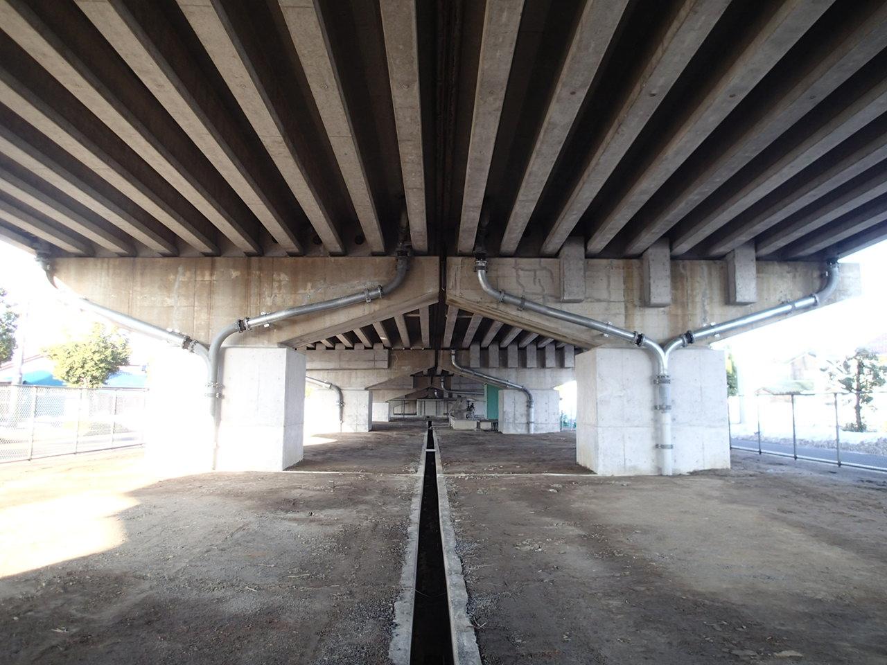 国道27号野神高架橋若葉町地区他橋梁耐震補強工事
