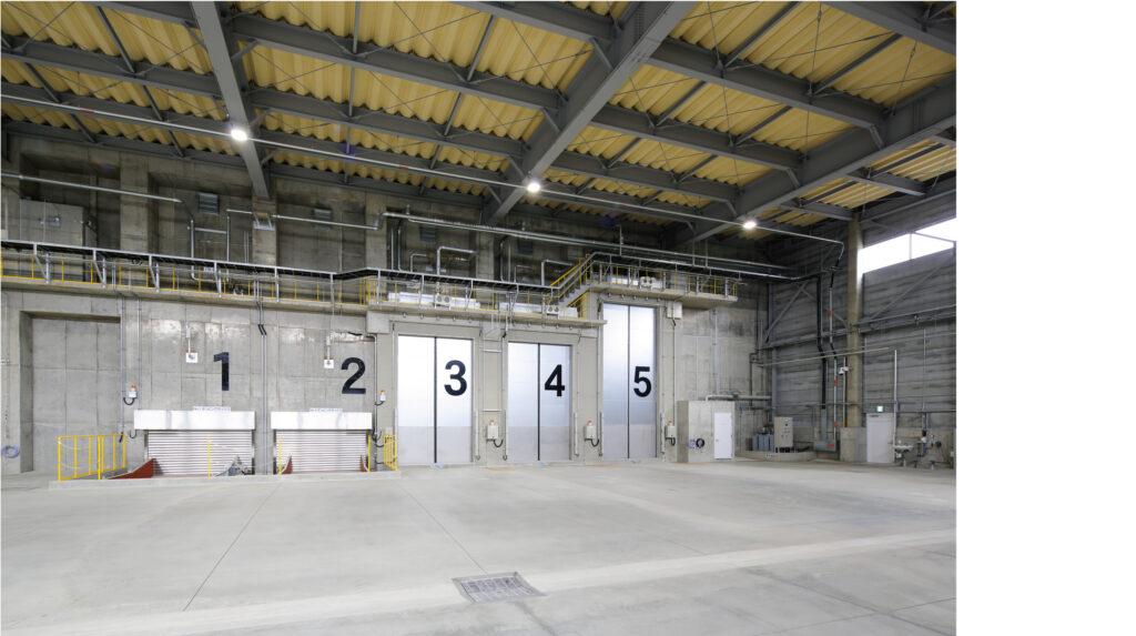 南越清掃組合新ごみ処理施設整備・運営事業(プラットホーム)イメージ