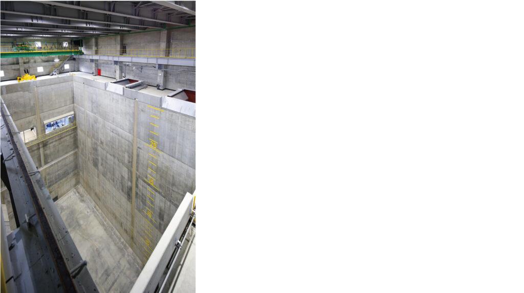 南越清掃組合新ごみ処理施設整備・運営事業(ゴミピット)イメージ